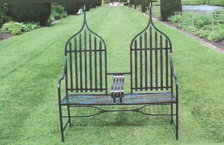 Oriental Seat. Garden Furniture